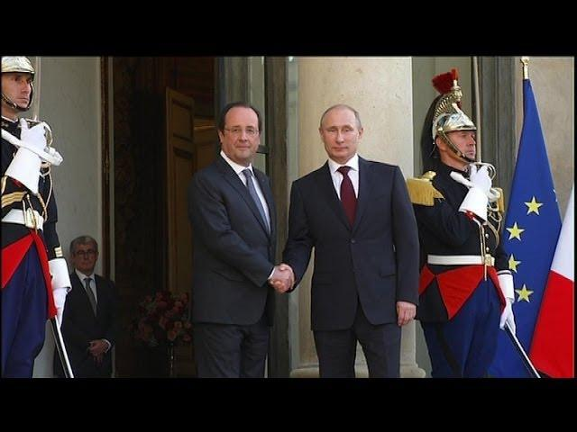 hollande et poutine